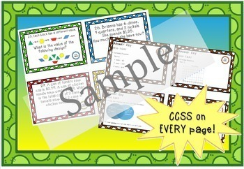 Math Constructed Response Task Cards: 5th Number & Operations Base Ten (NBT)
