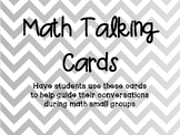 Math Conversation Cards