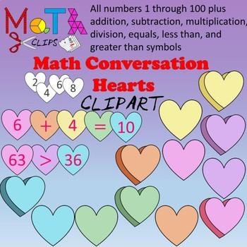 Math Conversation Hearts