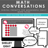 Math Conversations | Second Grade | Daily Prompts for Meaningful Math Talks