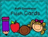 Math Conversion Flash Cards