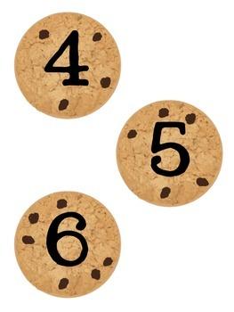 Math Cookie Jar Labels