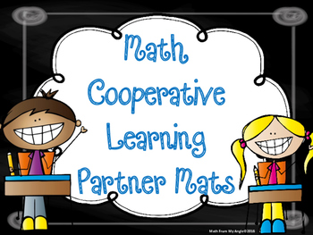 Math Cooperative Learning Partner Mats