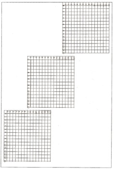Math Coordinate Graphing Pictures:  Alphabet Letter Set