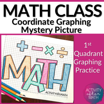 Math Coordinate Graphing Mystery Picture (First Quadrant Only)