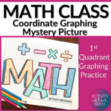 Math Coordinate Graphing Picture (First Quadrant Only)