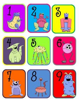 Math Core Curriculum Monster Games