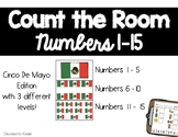 Math Count the Room Cinco De Mayo Edition