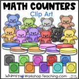 Math Counters: Two Sided and Colorful Bears - Whimsy Workshop Teaching