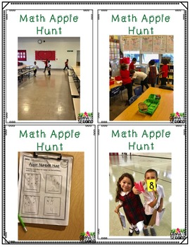 Math Counting Activity {Apple Hunt}