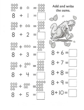 Math - Counting & Addition (First Grade)