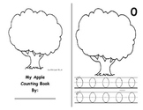 Math Counting Book: Apples on Tree