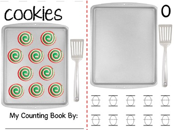 Math Counting Book: Baking Cookies