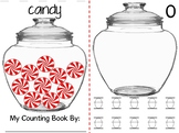 Math Counting Book: Candy Jar - Peppermint