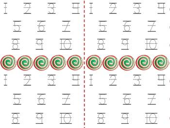 Math Counting Book: Cookie Jar - Pinwheel Cookies