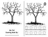 Math Counting Book: Fall Tree