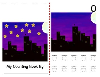 Math Counting Book: Night Sky