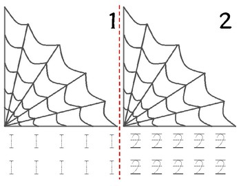 Math Counting Book: Web Corner & Spider