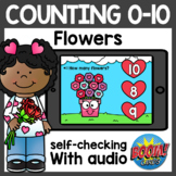 Math Counting Boom Cards | Valentine's Day Boom Cards Dist