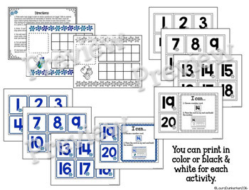 Math Counting Bundle