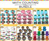 Math Counting Clip Art Bundle