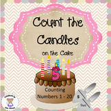 Counting - Count the Candles 1-20