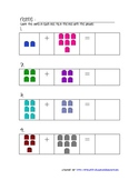 Math Counting Cubes