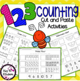 Math Counting Cut & Paste 1-20