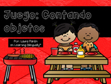 Math Counting Game- Barbeque Theme