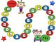 Math Counting Game- Clown Theme