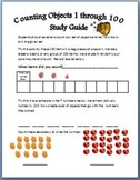 Math Counting Objects 1 through 100 Assessment & Study Guide