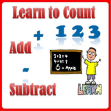 Counting Order Practice, Relate Addition and Subtraction - Grade K-1