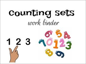Math: Counting Sets Interactive Binder