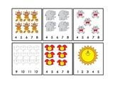 Math Counting Sheets