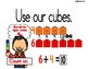 Math Counting Strategies for Addition and Subtraction Anchor/Posters (white)