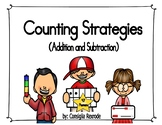 Math Counting Strategies for Addition and Subtraction Anch