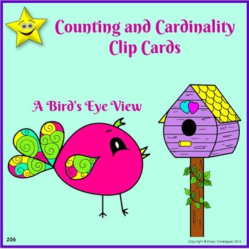 Counting and Cardinality Clip Cards