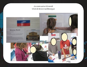 Math - Course autour du monde