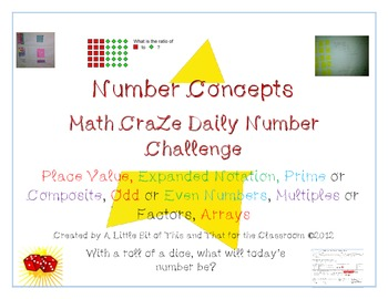 Math CraZe Daily Number Challenge
