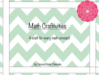 Math Craftivities- A craft for every math concept!