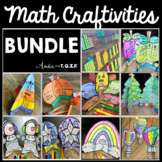 Math Craftivities Growing BUNDLE for the WHOLE YEAR