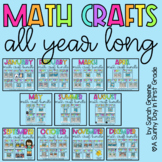 Math Crafts All Year Long Bundle