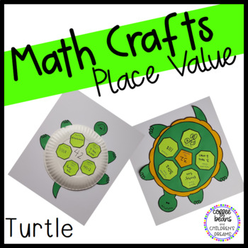 Place Value Craftivity:Turtle