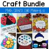 Math Crafts and Centers Seasonal Growing Bundle