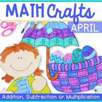 Math Crafts for April