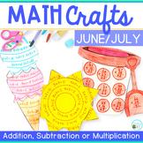 Summer Math Crafts
