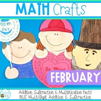 Math Crafts for February
