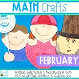 Math Crafts   Valentines Day    100th Day of School
