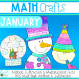 Math Crafts for January