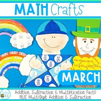 Math Crafts for March